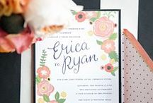 Wedding and Party Invitations / by Meurie Land
