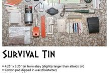 Survival - BOB - EDC / WTSHTF - BUG OUT - Emergency Preparations - Living Scaled Down / by Linda Royal