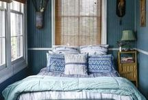 Beautiful Bedrooms / A collection of beautiful beds and comfy bedrooms.  / by Darlene Schacht (TimeWarpWife.com)