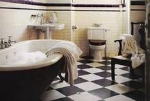 Bathrooms Ideas / Decorating and organizing ideas for bathrooms.  / by Darlene Schacht (TimeWarpWife.com)