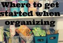 Keepin' It Tidy / Great organizing ideas. / by Heather Thatcher