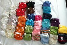 Cloth diapers. / by Amanda Reed