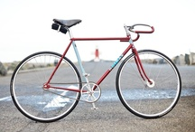 Bike appreciation / I love fixies (fixed-wheel city bikes: no freewheel and a single gear ratio, like track bikes); tourers; MTBs; anything with design and attention-to-detail. / by Jeremy Dent
