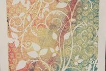 Art Tutorials for Gelli Prints / by Patricia Boyd