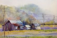 Art I Love Structures/ Houses, Barns, Churches, etc. / by Patricia Boyd