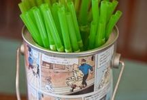 Tintin Party Inspiration / by Giovanna Cianelli