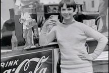 Hollywood Golden Age Candids: We Love Coca-Cola! / Since I love Hollywood's Golden Age and Coca-Cola, why not combine both?! / by Fernanda Trigueiro