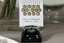 Unique Table Toppers / Place cards, centrepieces and everything in between. / by Weddingbells