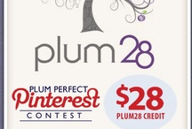 "(Ended) Plum Perfect ""Accessories"" Contest / Who has the winning pin for a $28 Plum28 Gift Card? Between November 1-26, all you have to do is create your own Plum28 board on your Pinterest page, Repin this image as well as any 5 items from the Plum28 Accessories page: http://www.plum28.com/Decorative-Accessories-c222/. Share the link in the comment section below and you're in it to win it! 