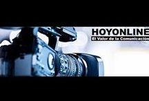 NUESTROS VÍDEOS / http://www.hoyonline.tv/  Algunos de los vídeos que generamos en nuestros programas semanales de TvOnline / by Luis Jones