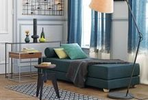 spaces and decor / by Sarah Mc