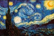 VANGOGH  inspires us... / my cousin Vinnie? Him and his influence on others.   / by ART ED Central