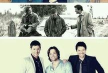 Supernatural loves :) / Everything Supernatural. Cockles. Destiel. Sabriel. Cons. Panels. Anything and everything. Fangirl out. / by Ashley Pickel