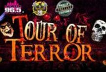 Wired's Tour of Terror / How are you celebrating this Halloween Season? Join Wired 96.5 on our Tour of Terror! / by Wired 96.5