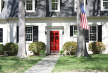 Colorful Front Doors / by Laura Trevey
