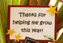Teacher gift ideas  / by Jennifer Williams