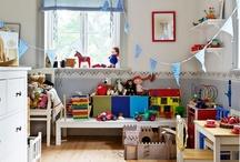 Kids room - barnrum / by Ann-Louise Söderberg