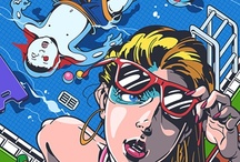 Illusion Nation / Illustration Work I Fancy / by Gianluca Fallone