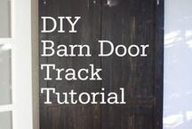 Style: Barn Doors / Barn doors, sliders / by Amy Fennell