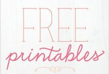 DIY: Printables / Printable art for your home and crafts / by Amy Fennell