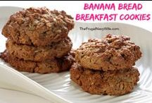 Food - Breakfast / Breakfast recipes that you can make in advance, freezer recipes, grab & go breakfast ideas, and Sunday brunch recipes / by Danielle - The Frugal Navy Wife