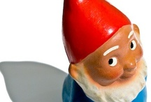 ··⊱ gnome / ~~ said to live in the depths of the earth and guard buried treasure ~~  / by ᶫᵒᵛᵉᵧₒᵤ  ~ Julia
