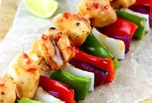 Food - Grilling / Summer time is grilling time! I wont like i grill in the winter sometimes too! Here are some great Grill recipes, from Burgers to grilled sides and more! / by Danielle - The Frugal Navy Wife