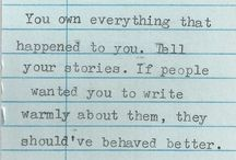 Writing / by Nichole