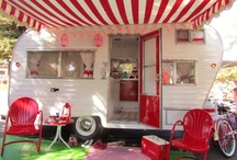 vintage trailer  / by Lanette Marcacci
