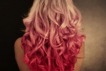 hair crazy color love / Life is to short to go around with boring hair color! / by Dara Beery
