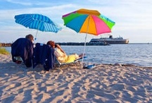 Hit the Water! / Located on Lake Michigan, Ludington offers endless opportunities to enjoy the water! Several in-land lakes and rivers such as the Pere Marquette and Big Sable make for fun memories in the water! / by Pure Ludington