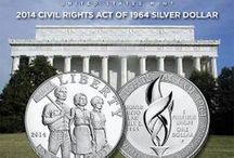 2014 Civil Rights Act of 1964 Silver Dollar / by United States Mint