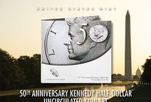 50th Anniversary of the Kennedy Half-Dollar / 50th Anniversary of the Kennedy Half-Dollar / by United States Mint