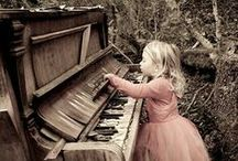 pianos & music. / by Wendy MacLachlan