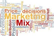 Marketing Mix / by Wendy Galloway