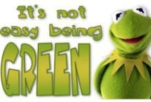 It's Not Easy Being Green / by Wendy Galloway