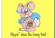 Hoppin' Down The Bunny Trail / by Wendy Galloway
