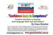 PUBLICITY & FLYERS / CREATIVE TEACHING Workshops, Courses, E-books. / by Grace Bertolini CreativeTeaching