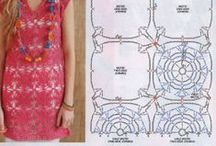 Crochet, Patterns, diagrams, graphs of motif & granny squares for clothing, ect... / crochet motifs and granny square patterns, diagrams, graphs, to make clothing and what ever else we can imagine to create! / by Laurie Strenkert