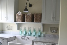 Laundry Room Inspiration / by Lorie Atherton