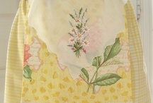 Love of Vintage & New Aprons / homemade aprons and vintage ones / by Kristi Kelley