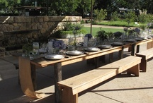 Private Dining Patio / by Farmstead at Long Meadow Ranch