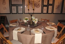 Indoor Private Dining Room / by Farmstead at Long Meadow Ranch