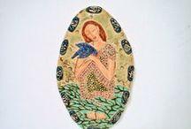 My Ceramic's / Hand built ceramics done with much love. vickiedumas.etsy.com / by Vickie Dumas