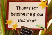 Teacher appreciation  / by Janet Allen