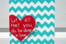 Canvas' and Crafty Things / by Candice Grose