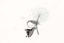 :) ilustraciones :) / by Maria Isabel