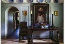 My Cottage Hall  / Welcome Dear Guests, I shake you warmly by the hand / by Cottagy Brit
