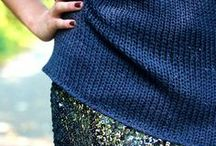 Captiving Clothing Combos / Interesting fabric, shape, colour or texture combinations.  / by Annie Streater