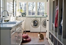 laundry rooms / by Adrienne Berg